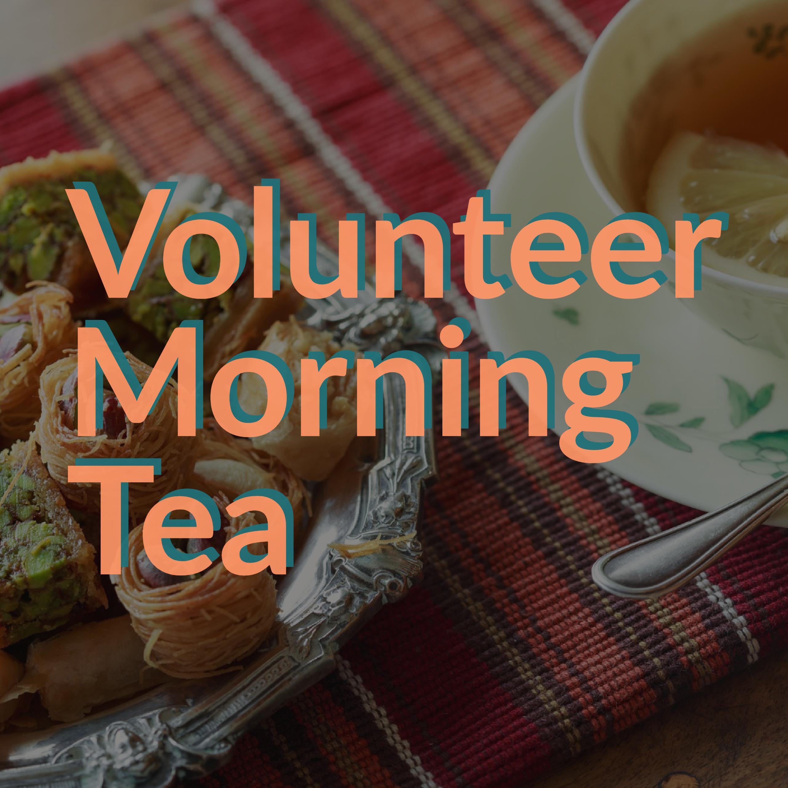 Volunteer Thank You Morning Tea
