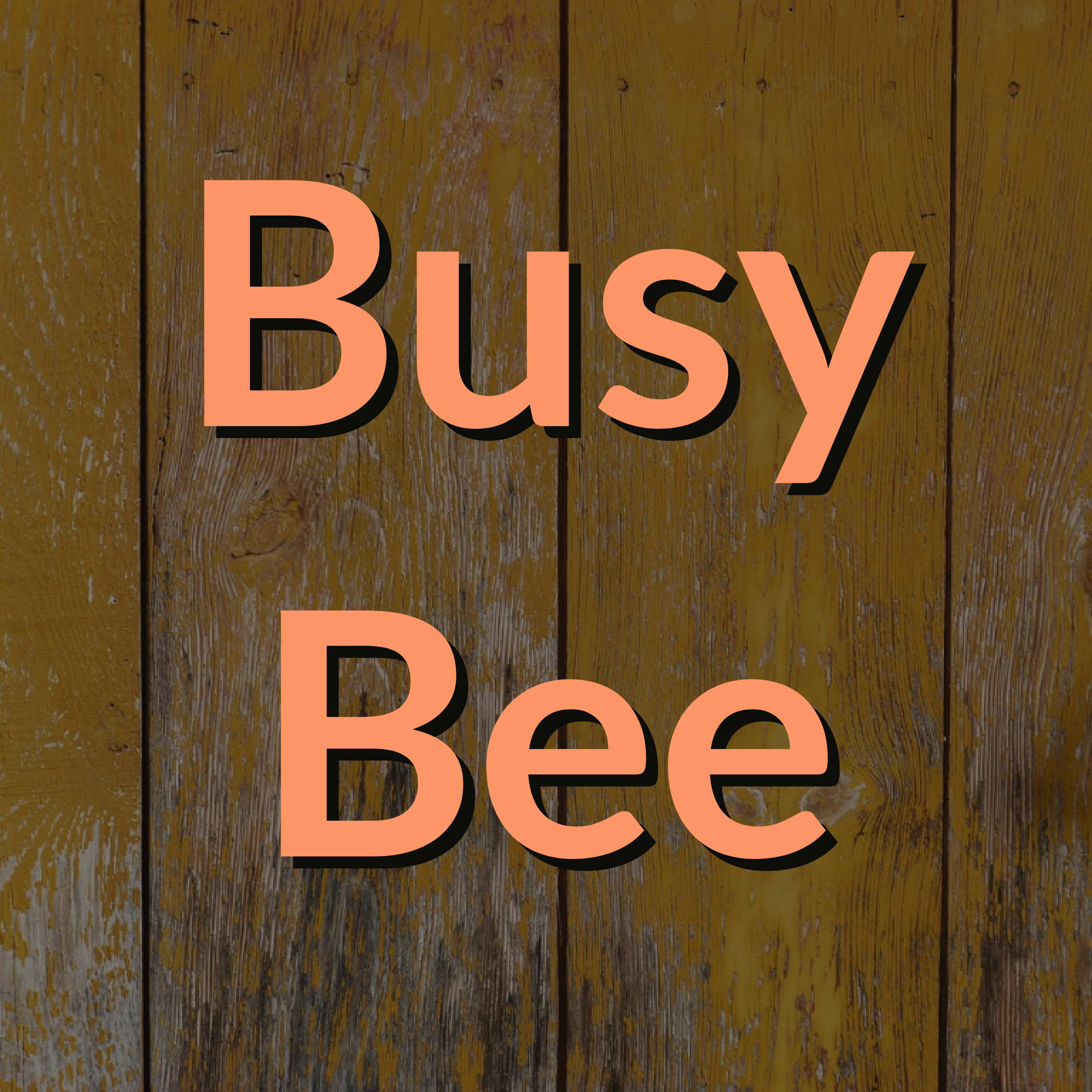 Volunteers Needed for Busy Bee
