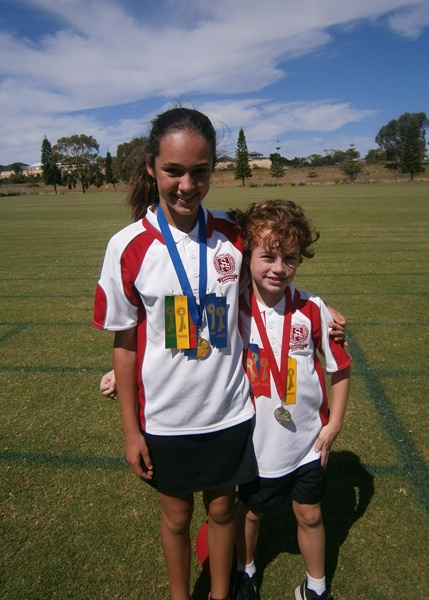 Spearwood Primary School at the Cockburn District Interschool Athletics Carnival