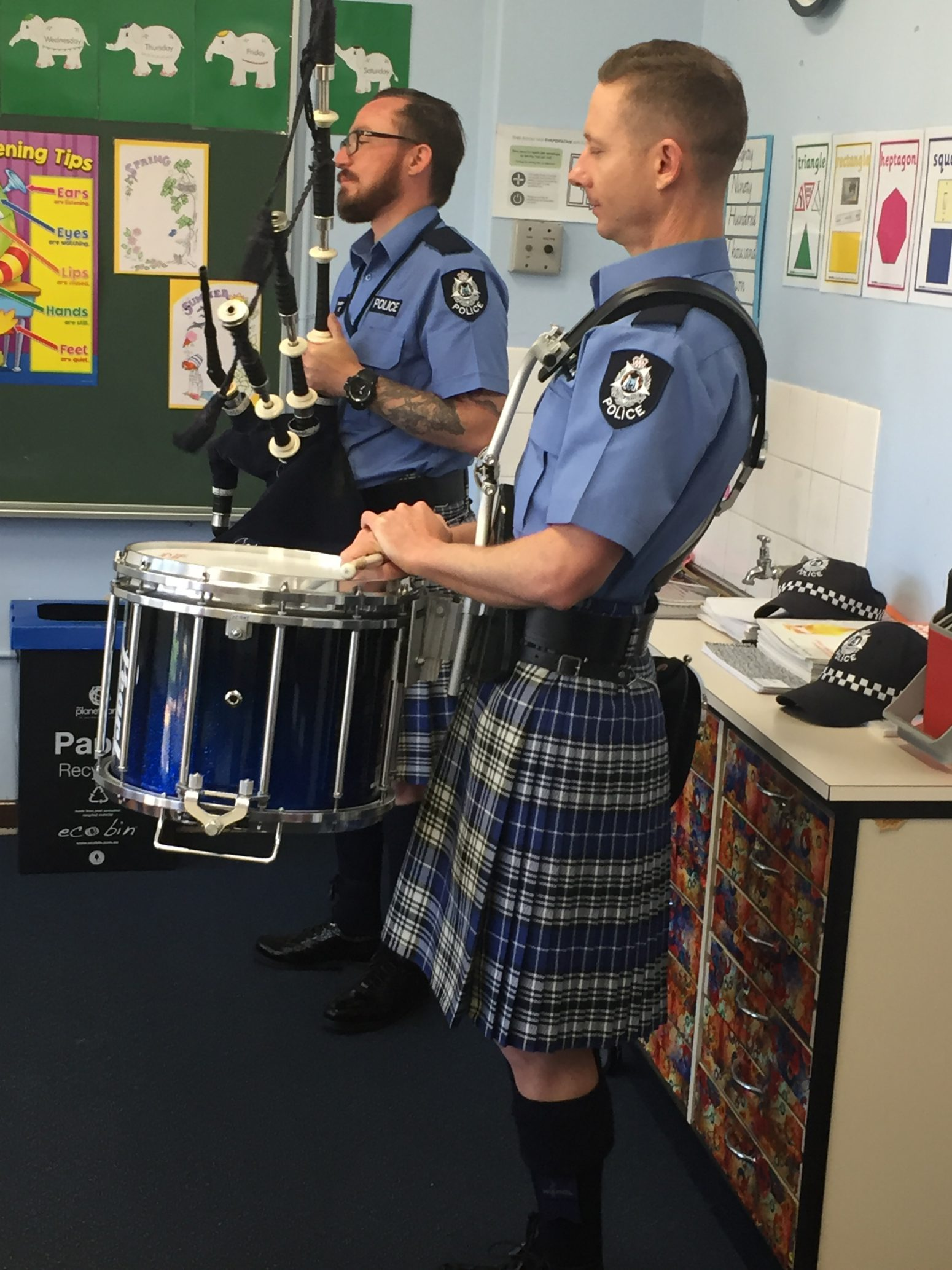 WAPOL – Pipe Band