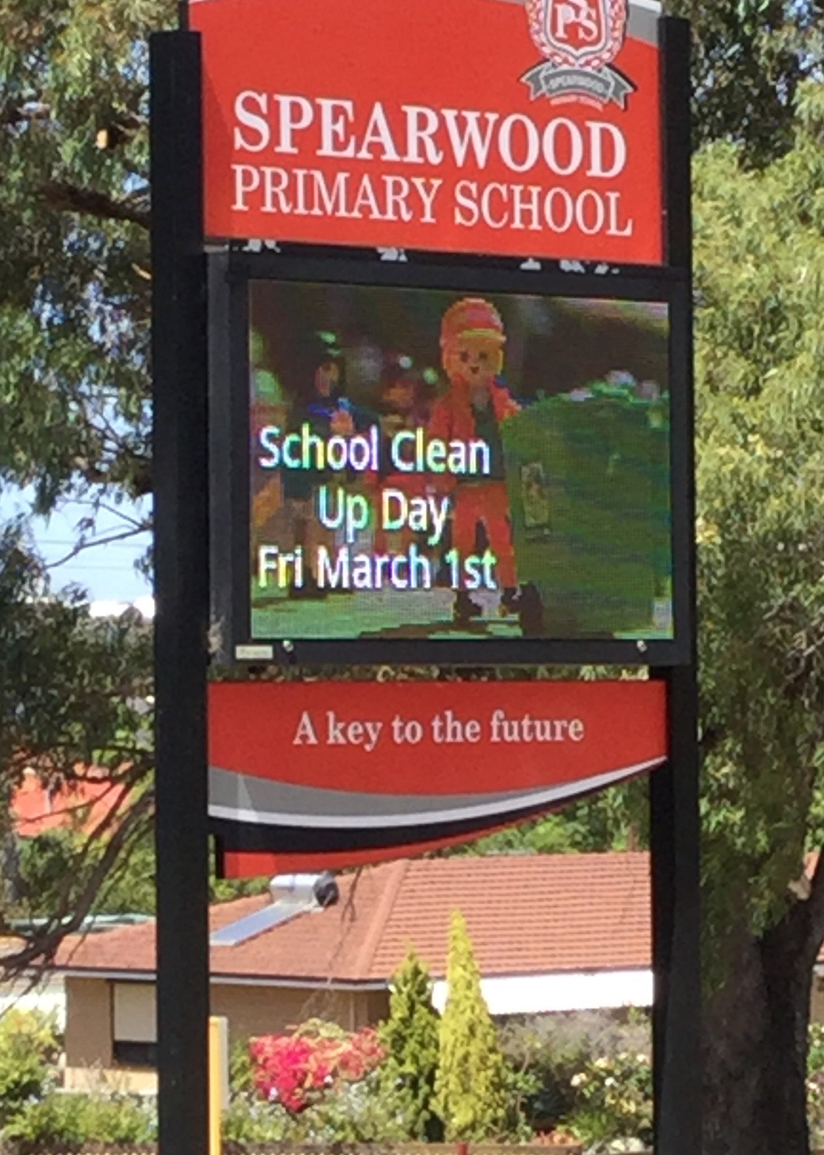 School Clean Up Day