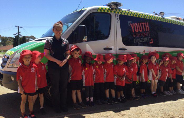 St John Ambulance Service Visit