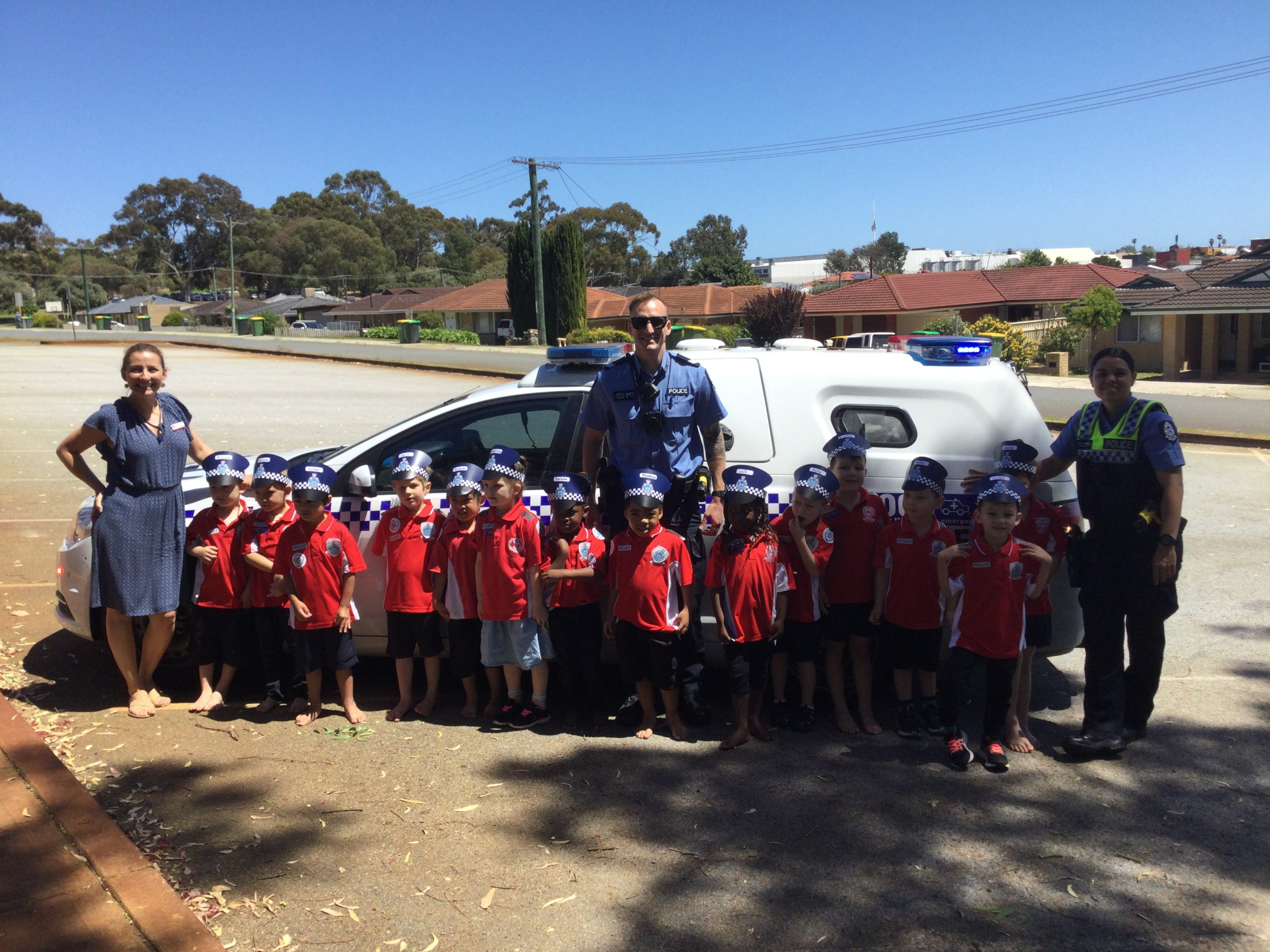 Community Helper Police Service Visit