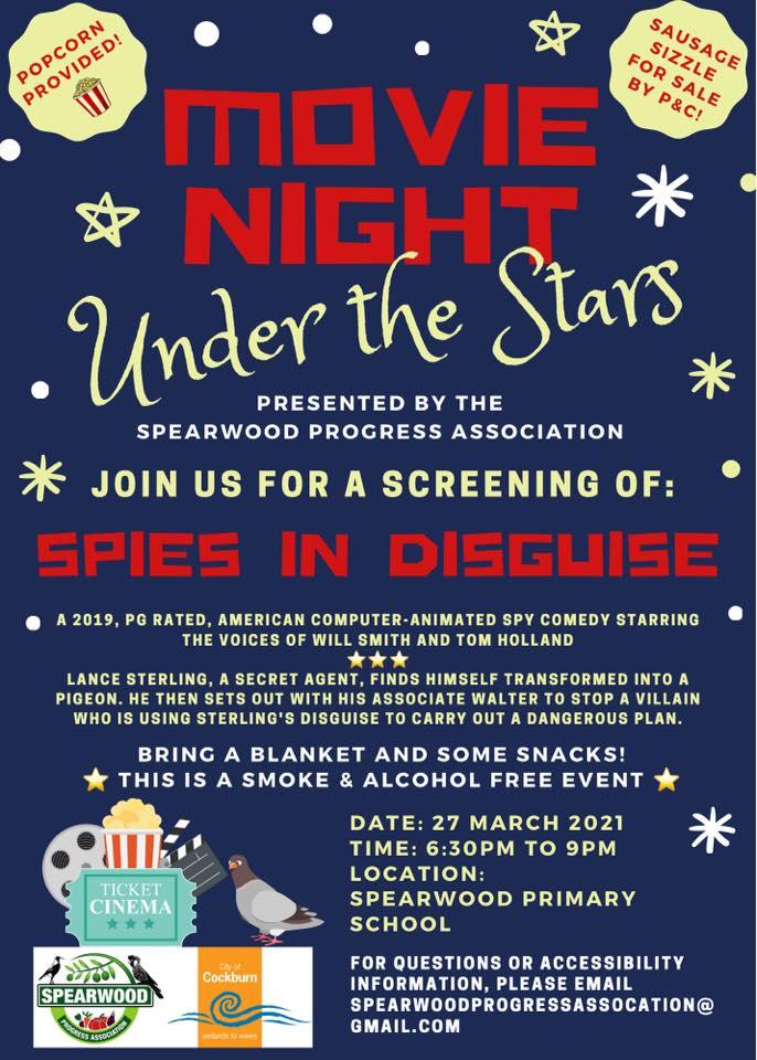 Spearwood Progress Association Movie Night